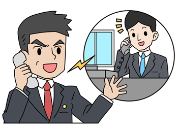 闇金の嫌がらせに対して会社へフォローの電話をする弁護士
